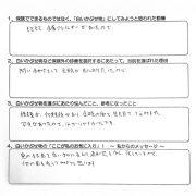 S.H様(60代女性・東京都練馬区在住)